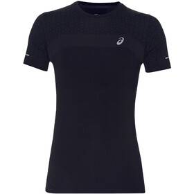 asics Seamless SS Texture Maillot Hombre, performance black